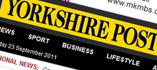 Yorkshire Post Header