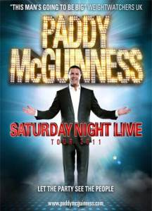 paddy mcguinness poster
