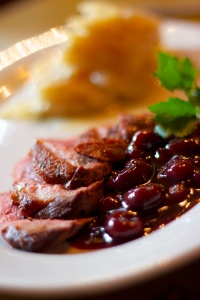 Duck Breast in a Cherry and Port sauce 03